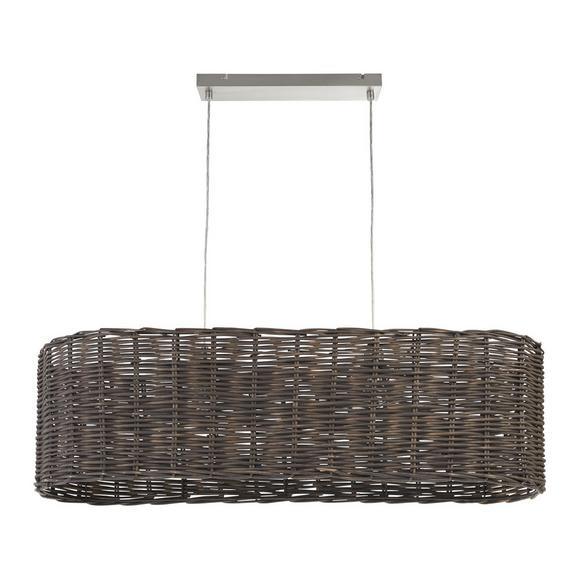 Pendelleuchte Charles - Grau/Nickelfarben, MODERN, Metall (110/33/120cm) - Mömax modern living