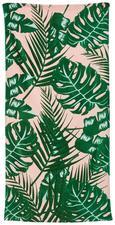 Strandtuch Linette Rosa/grün 80x160 cm - Rosa/Grün, Textil (80/160cm) - Mömax modern living
