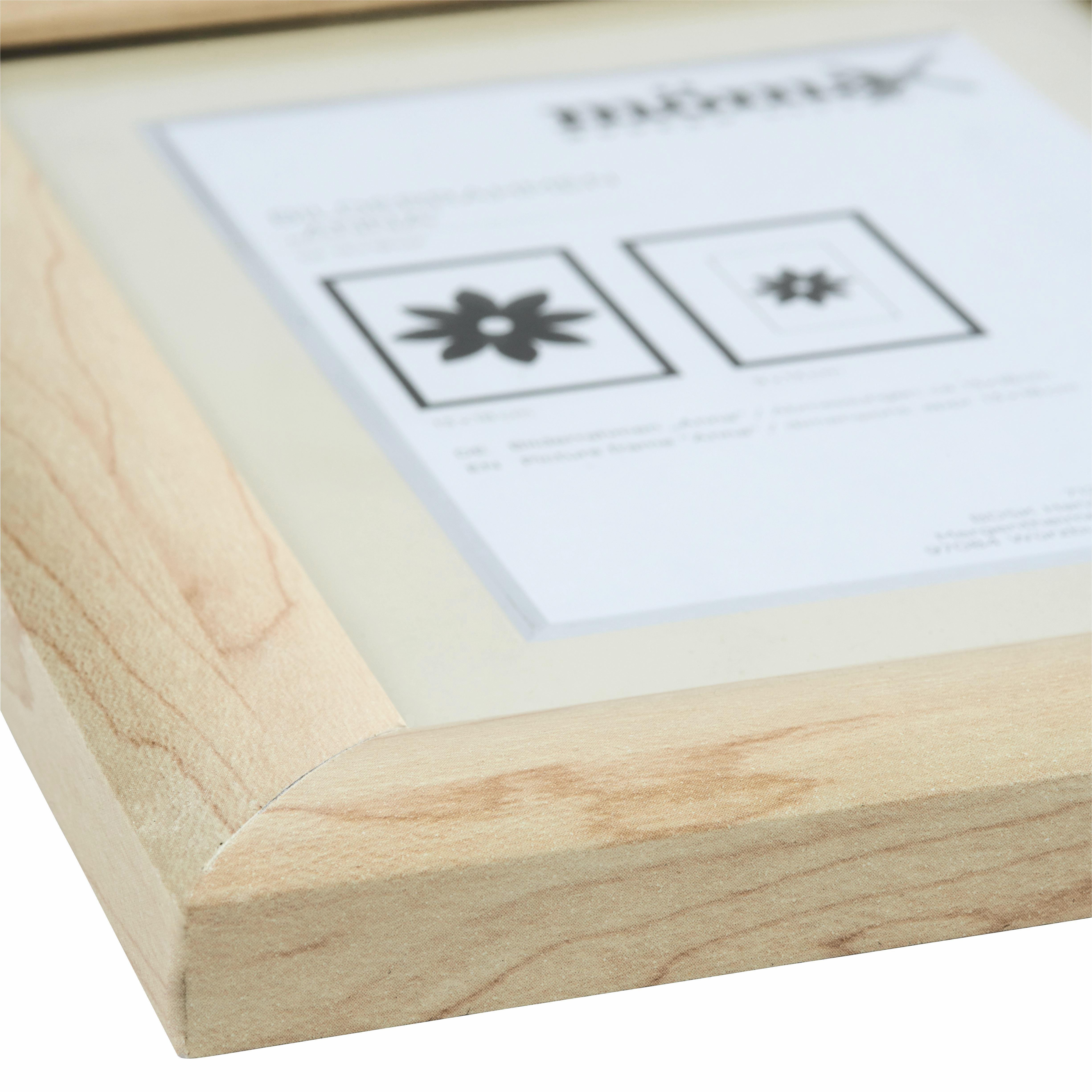 Képkeret Natúr Fenyő - natúr színek, romantikus/Landhaus, üveg/fa (13/18cm) - MÖMAX modern living