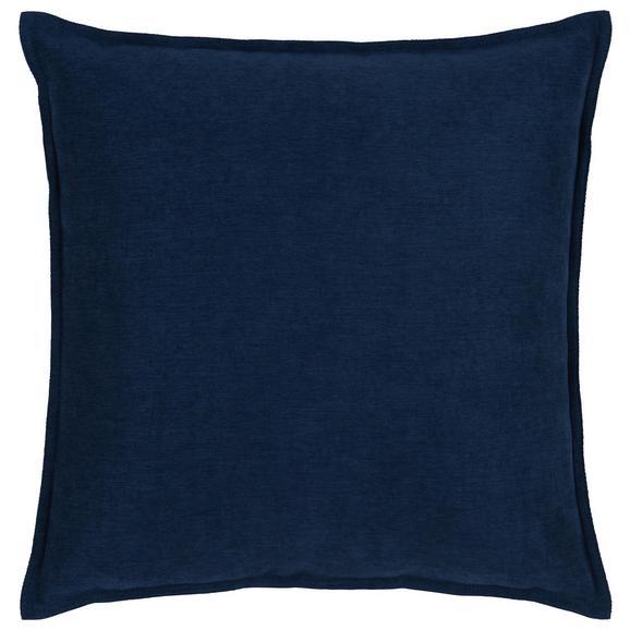 Zierkissen Poppy Blau ca. 45x45cm - Blau, MODERN, Textil (45/45cm) - Mömax modern living
