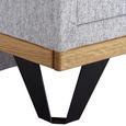 Noptieră Aura 1 - gri, Konventionell, lemn (50/55/40cm)