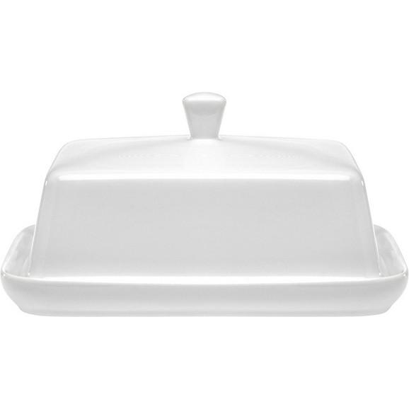 butterdose ginza in wei aus keramik online kaufen m max. Black Bedroom Furniture Sets. Home Design Ideas