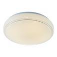 Deckenleuchte Enora mit Led - Weiß, MODERN, Kunststoff/Metall (28/10cm) - Modern Living