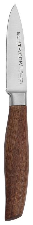 Echtwerk Schälmesser Classic Edition - Braun, MODERN, Holz/Metall (20,9cm) - Echtwerk