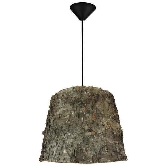 Viseča Svetilka Ted - naravna, Moderno, umetna masa/les (30/130cm) - Zandiara