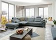 Sjedeća Garnitura Sjedeća Garnitura Bobby - siva, LIFESTYLE, tekstil/metal (316/250cm) - Premium Living