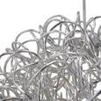 LED-Hängeleuchte Clea - Chromfarben, MODERN, Metall (40/135cm) - Modern Living