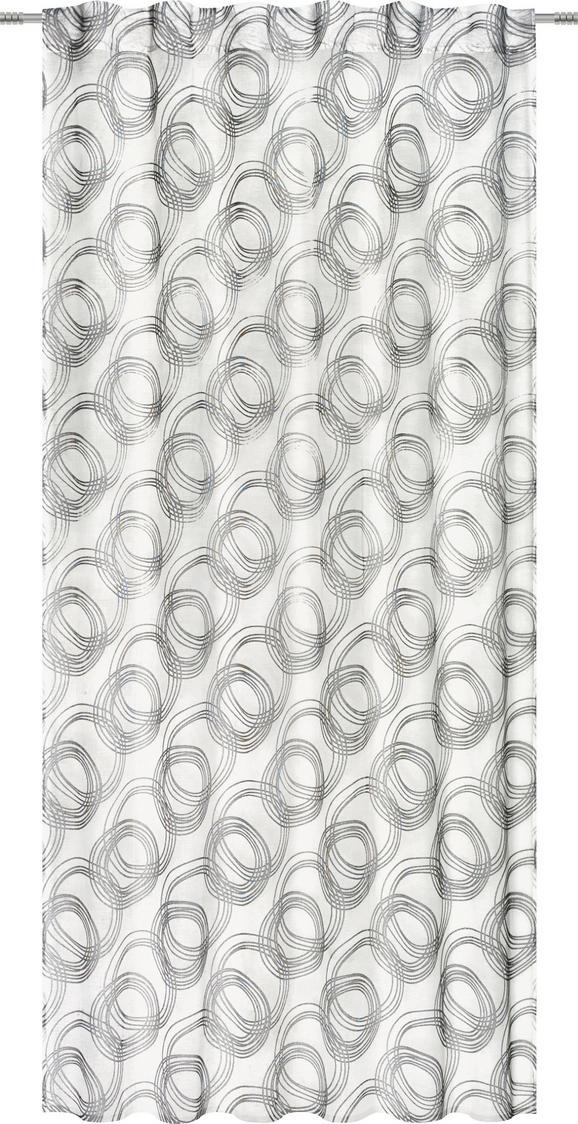Készfüggöny Curve - szürke, konvencionális, textil (140/245cm) - MÖMAX modern living