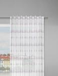 Fertigvorhang Loius Weiß/Grau/Rosa 140x245cm - Rosa/Weiß, KONVENTIONELL, Textil (140/245cm) - Mömax modern living