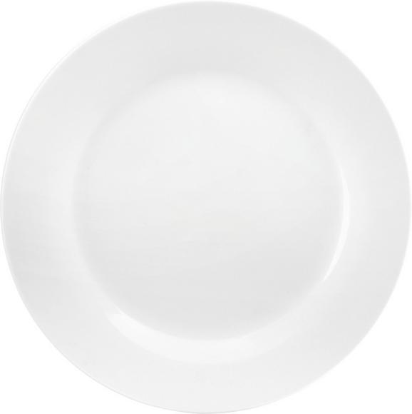 Lapostányér Adria - fehér, konvencionális, Kerámia (27cm) - Mömax modern living