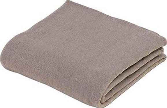 Fleecedecke Trendix Hellbraun 130x180 cm - Hellbraun, Textil (130/180cm) - Mömax modern living
