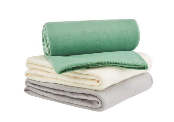Odeja Iz Flisa Trendix - zelena, tekstil (130/180cm) - Mömax modern living
