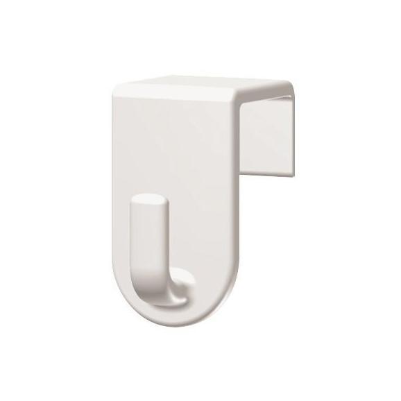 Kaveljček Fred - 4-delni Set - bela, umetna masa (2/3,5/2cm) - Mömax modern living