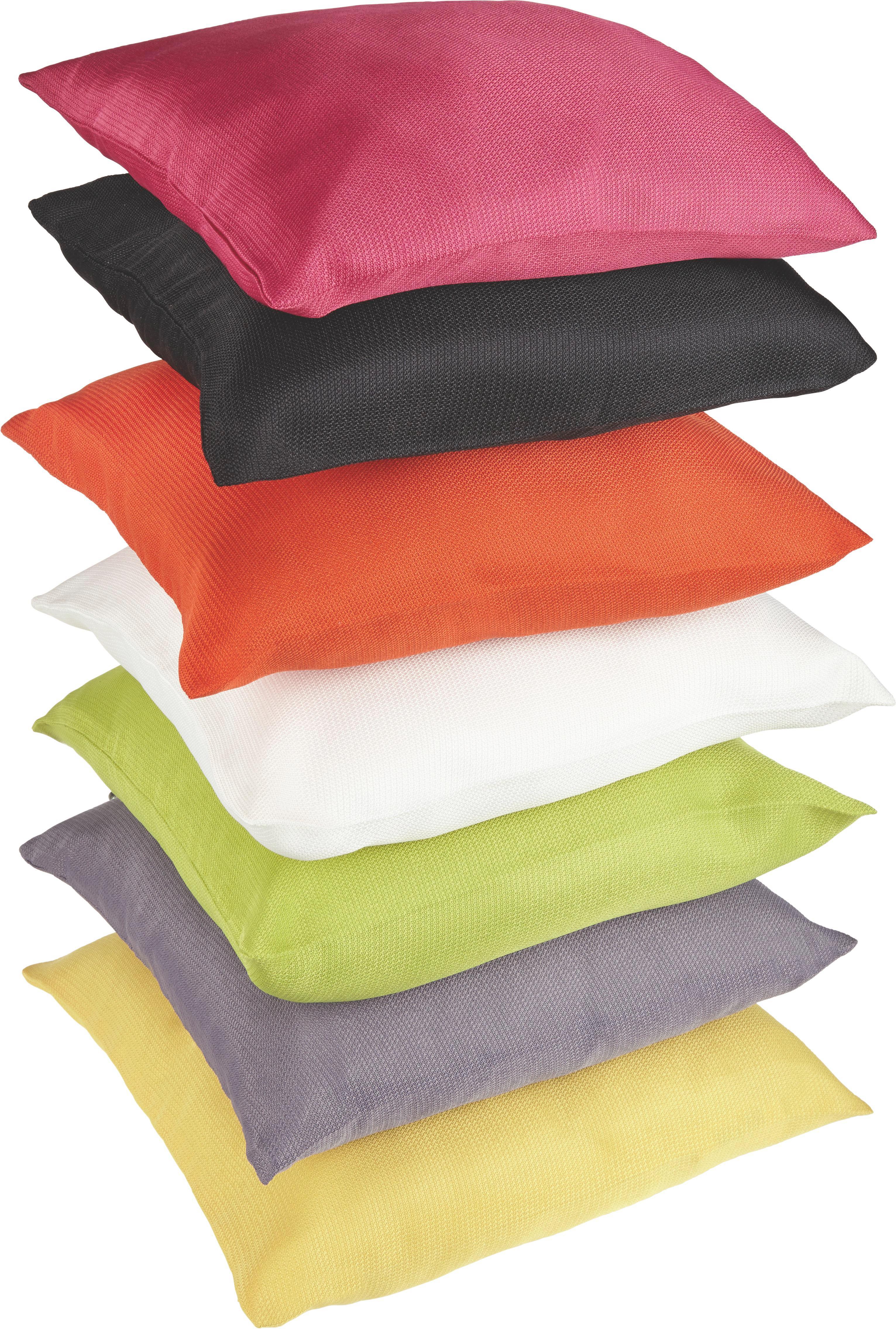Párnahuzat Waffel - natúr színek/pink, textil (40/40cm) - MÖMAX modern living