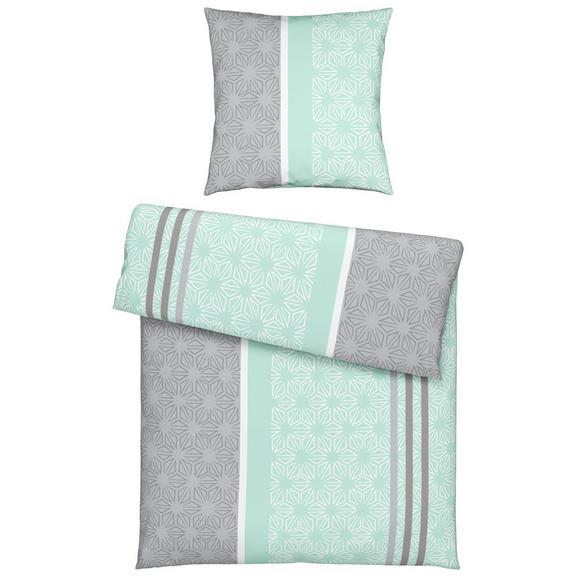 Bettwäsche Doris ca. 135x200cm - Rosa/Grau, Textil (135/200cm) - Mömax modern living