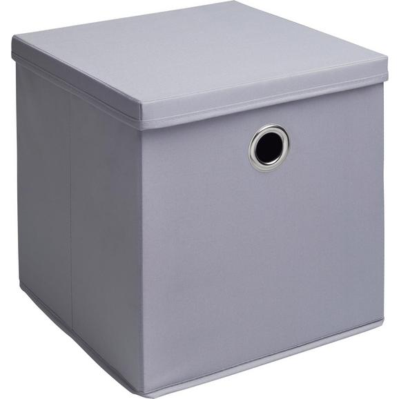 Box Maik - 2er Set - Grau, MODERN, Textil (30/30/30cm) - Bessagi Home