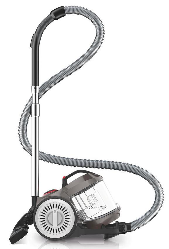 Bodenstaubsauger Dd2620-4 in Grau - Grau, Kunststoff - Dirt Devil