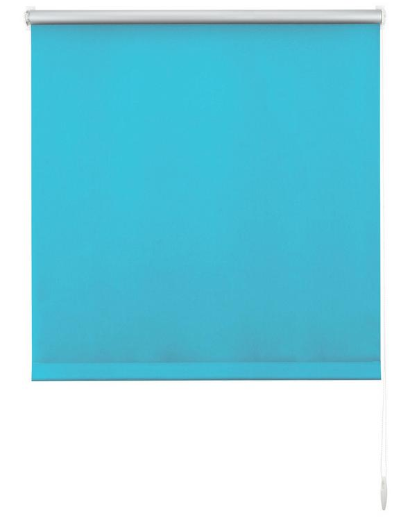 Klemmrollo Thermo Petrol ca. 90x210cm - Petrol, Textil (90/210cm) - Premium Living