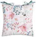 Sitzkissen Blossoms Multicolor - Multicolor, ROMANTIK / LANDHAUS, Textil (40/40cm) - Mömax modern living