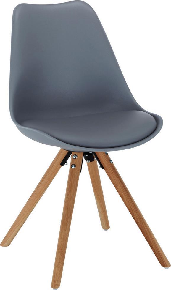 Stühle modern holz  Stuhl in Grau/eiche online kaufen ➤ mömax