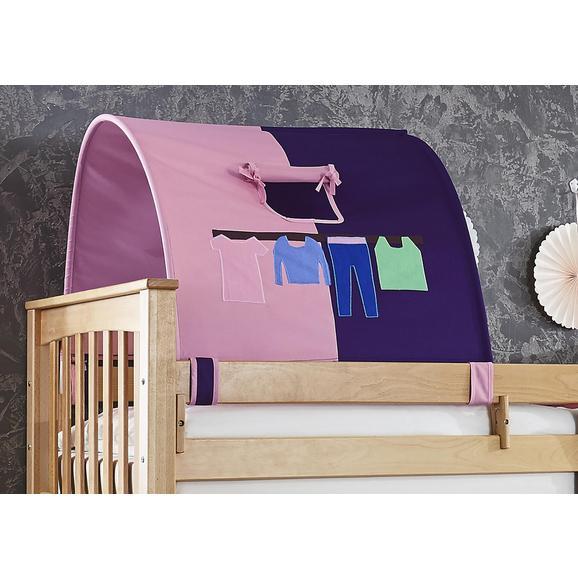 Tunnelset 1er-tunnel - Lila/Rosa, Design, Textil (180/13/16cm)
