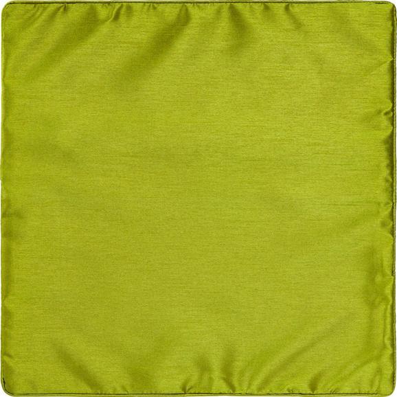 Párnahuzat Dupion - zöld, textil (40/40cm) - MÖMAX modern living