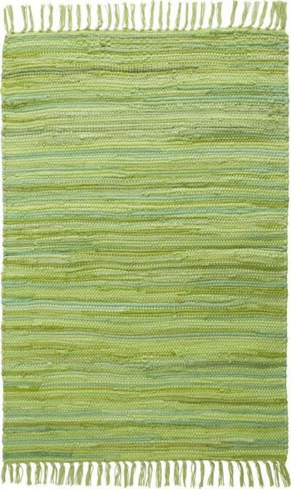 Fleckerlteppich Tonal - Grün, LIFESTYLE, Textil (60/120cm) - MÖMAX modern living