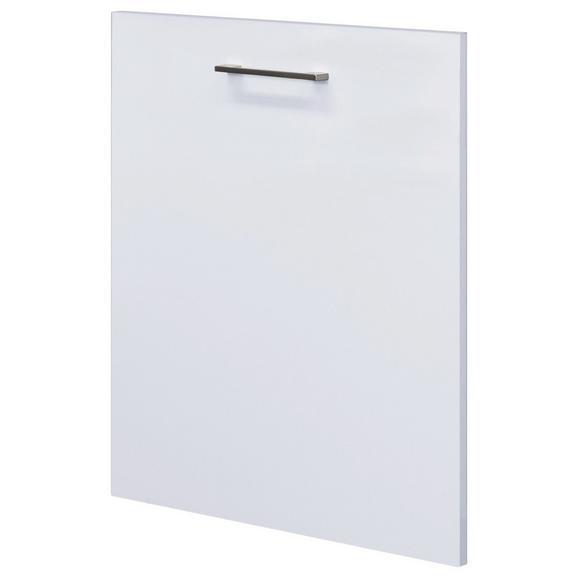 Geschirrspülerblende Geschirrspüler Blende / Weiß - Weiß, MODERN, Holzwerkstoff (59,4/68,2cm)