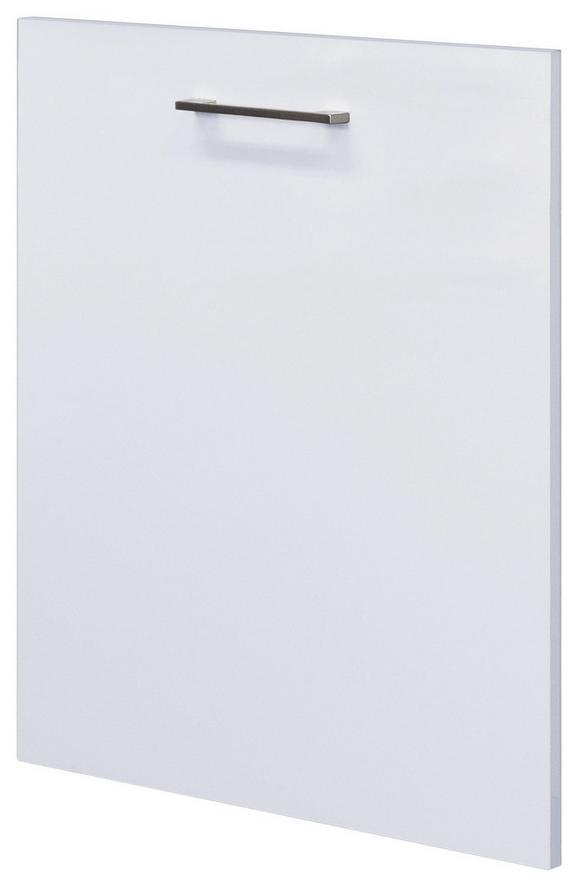 Geschirrspülerblende in Weiß - Weiß, MODERN, Holzwerkstoff (59,4/68,2cm)