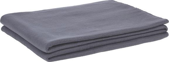 Polár Pléd Trendix - Antracit, Textil (130/180cm) - Mömax modern living