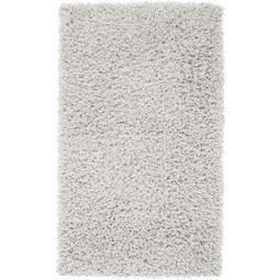 Hochflorteppich Bono in Weiß ca. 100x150cm - Weiß, KONVENTIONELL, Textil (100/150cm) - Based