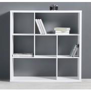 Regal Basic - Weiß, MODERN, Holz (110/110/29,5cm) - Modern Living