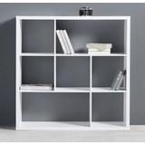 Regal Basic - Weiß, MODERN (110/110/29,5cm) - Modern Living