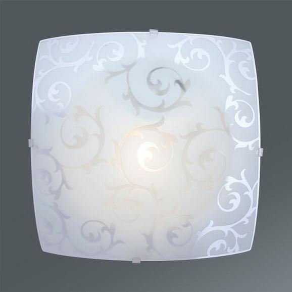 Stropna Svetilka Carlos - bela, Konvencionalno, kovina (25/25/65cm) - Mömax modern living