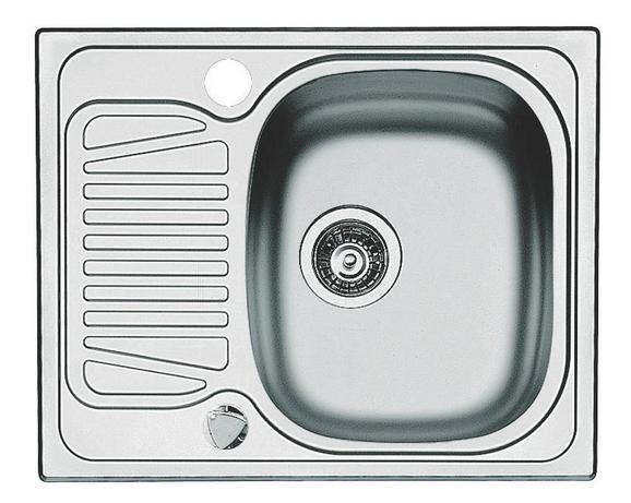SPÜLE 1006603 - Edelstahlfarben, MODERN, Metall (62/50cm)