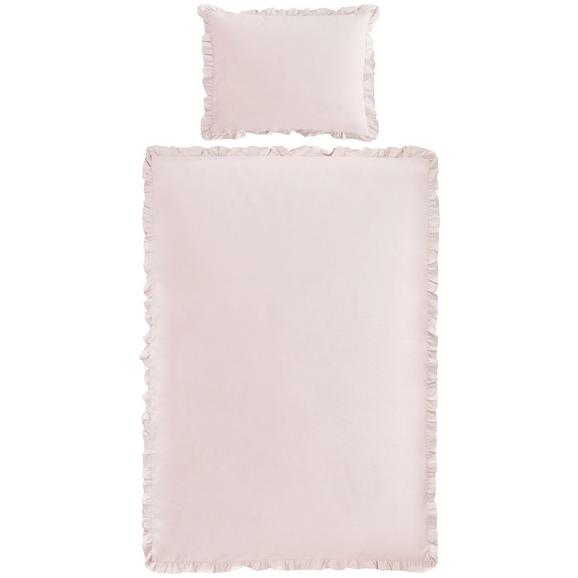 Lenjerie De Pat Rüschen - roz antic, Romantik / Landhaus, textil (140/200cm) - Zandiara