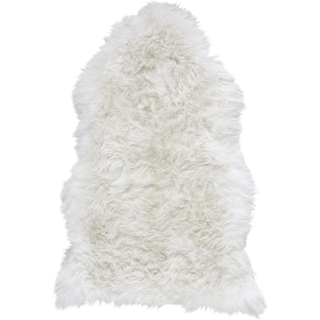 Schaffell in Weiß ca.95x60cm 'Mona'