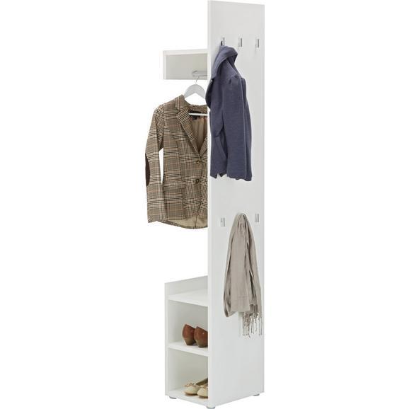 Predsoba Sam - bela, Moderno, leseni material (40/197/32cm) - Mömax modern living