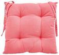 Sitzkissen Steven 40x40 cm - Pink, Textil (40/40cm) - Mömax modern living