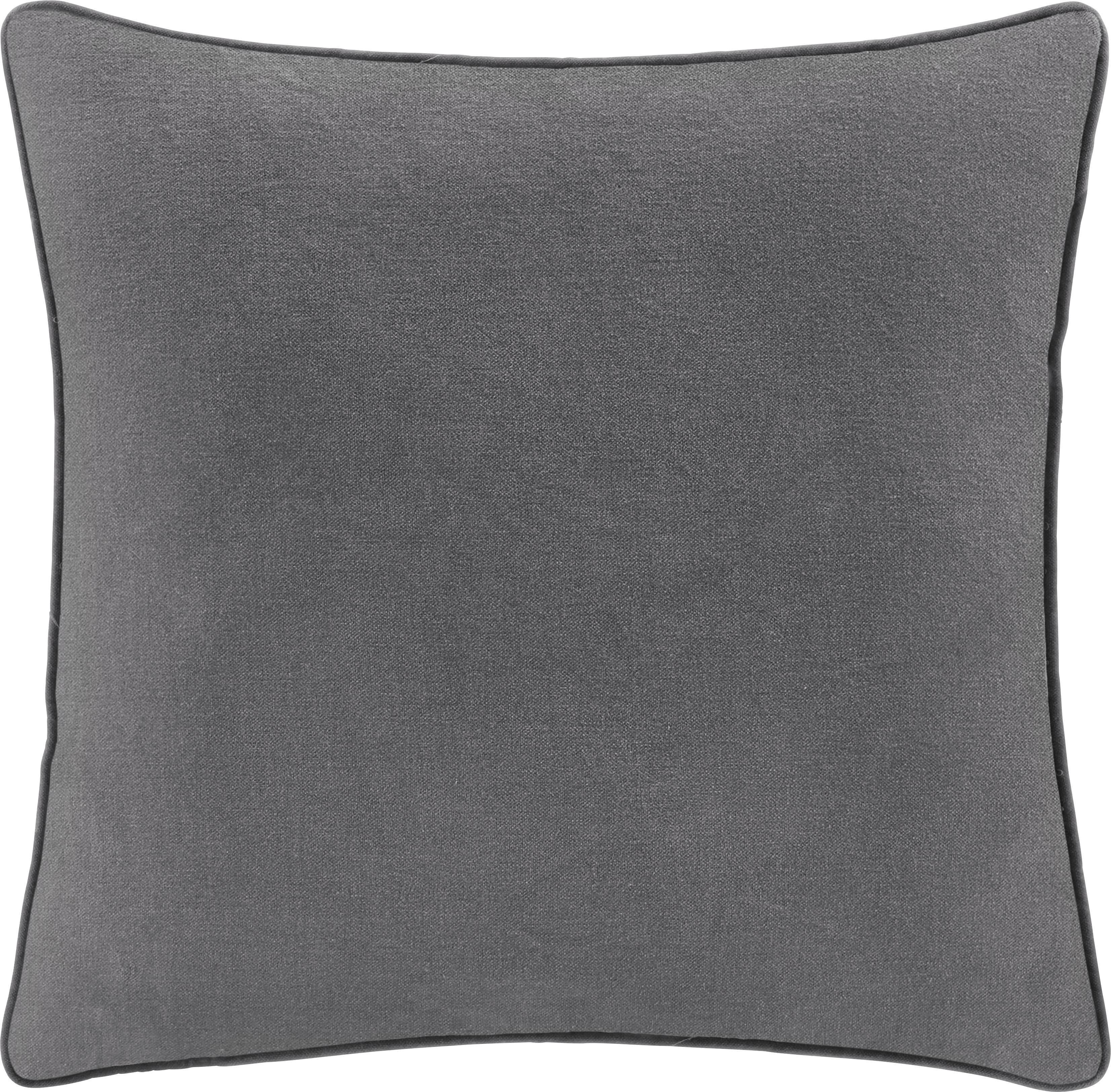 Zierkissen Carolyn 45x45cm - Hellgrau, MODERN, Textil (45/45cm) - MÖMAX modern living