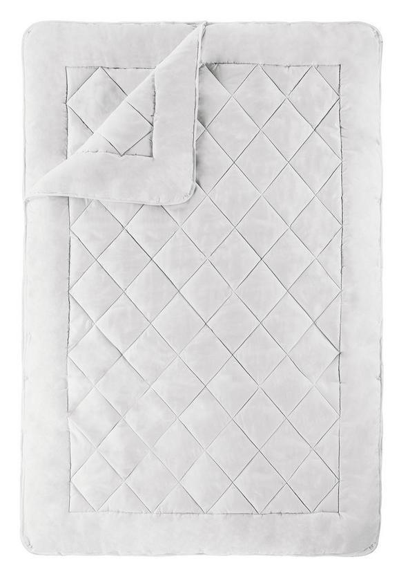 Ganzjahresdecke ca. 135-140x200cm - Weiß, Textil (135/200cm) - Nadana