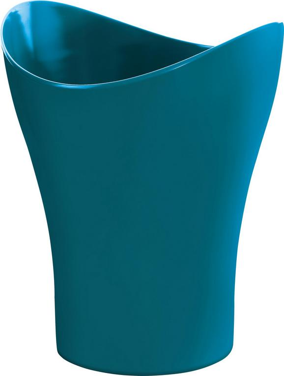 Kosmetikeimer Bella Petrol - Petrol, KONVENTIONELL, Kunststoff (23,47/27,86cm) - Mömax modern living