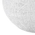 Hängeleuchte Sophia, max. 60 Watt - Weiß, LIFESTYLE, Naturmaterialien/Kunststoff (50cm) - Mömax modern living