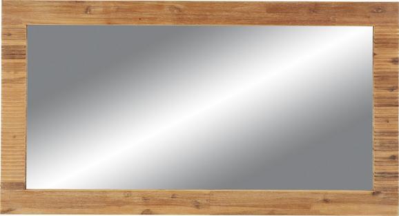 Ogledalo Aruba - akacija, Konvencionalno, steklo/les (130/70/3cm) - Zandiara