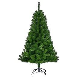 Karácsonyfa Charlton - Zöld, Műanyag/Fém (91/155cm)