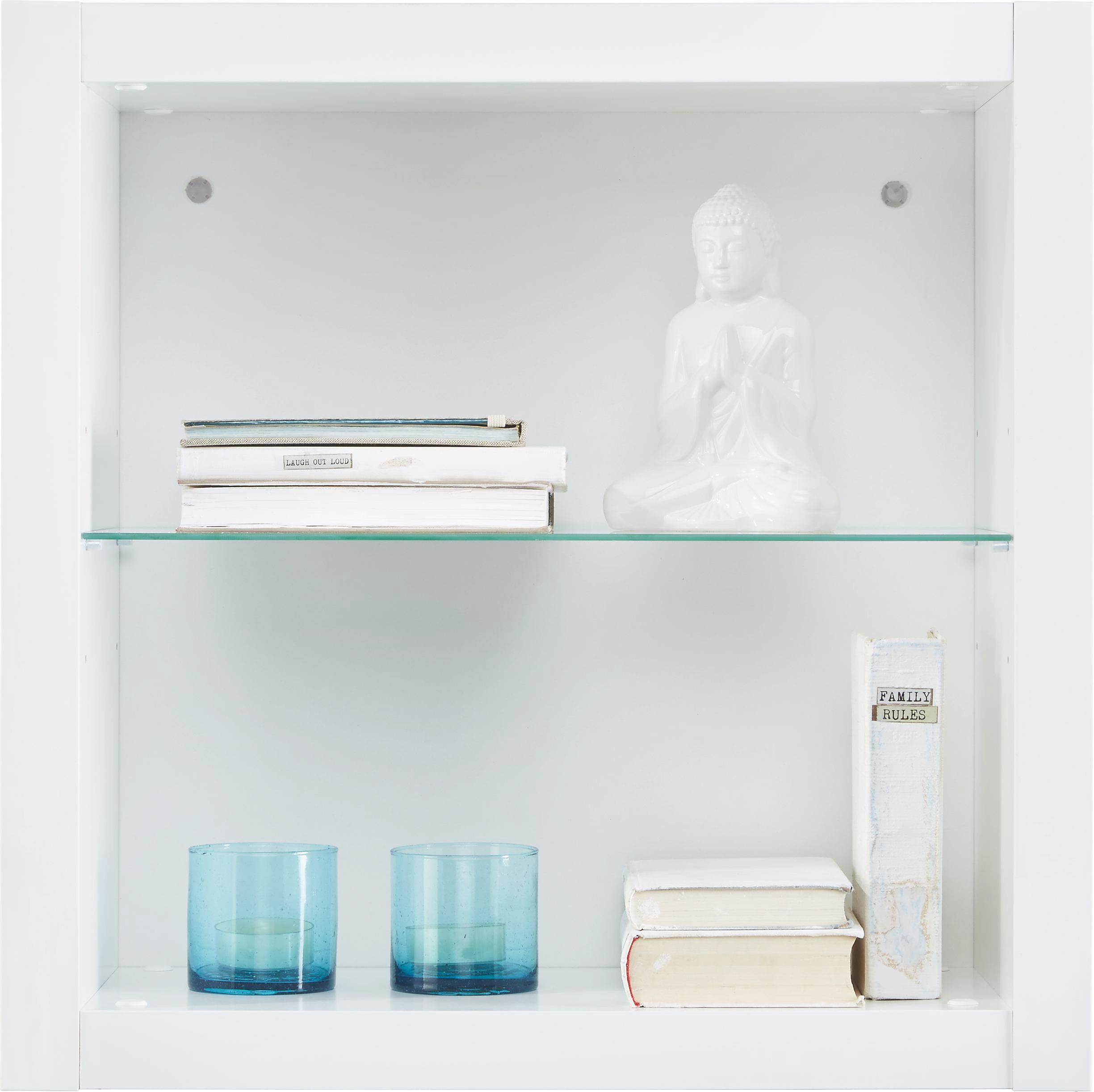 wandregal wei hochglanz online kaufen m max. Black Bedroom Furniture Sets. Home Design Ideas
