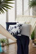 Okrasna Blazina Zippmex -based- - svetlo siva, tekstil (50/50cm) - Based