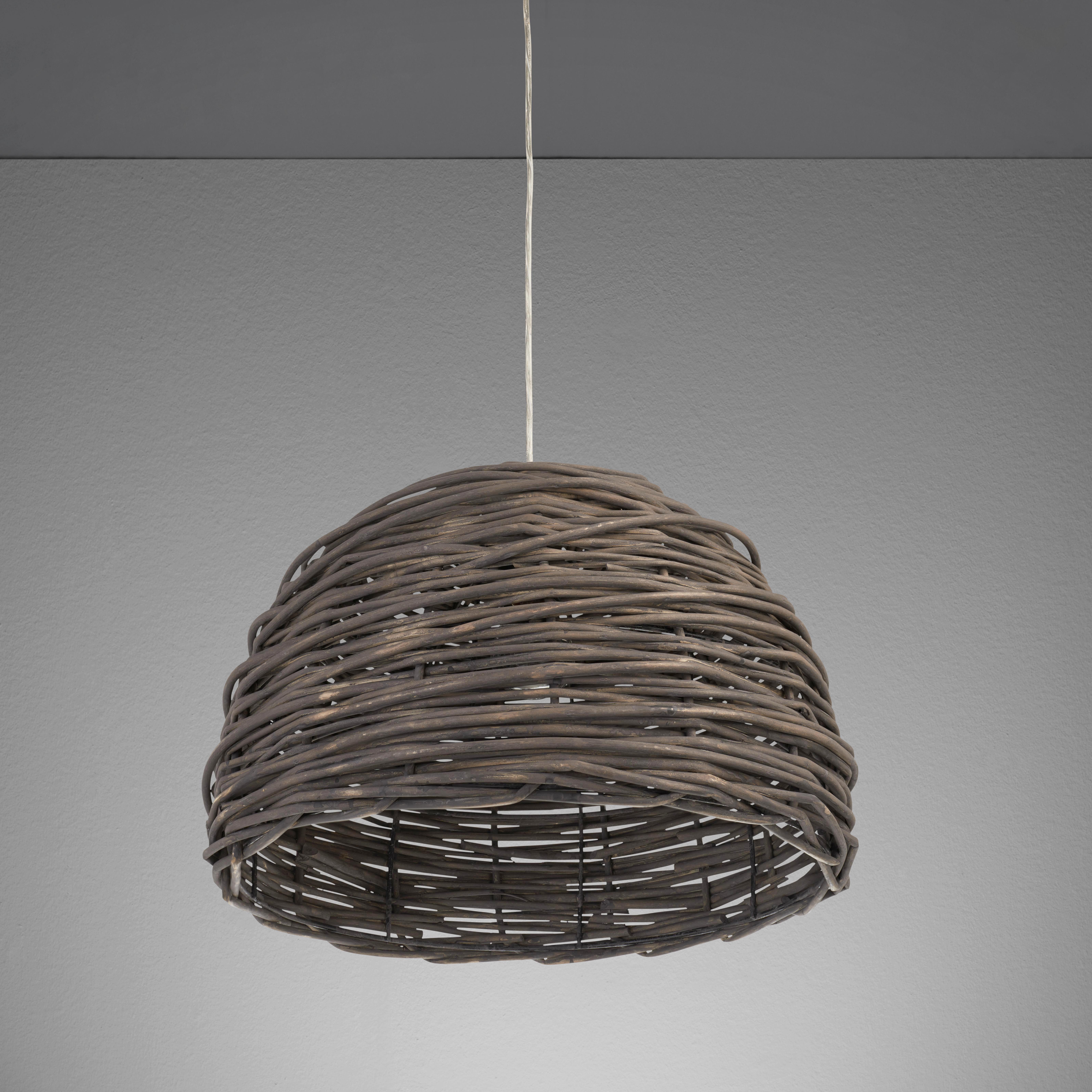 Hängeleuchte Charlotte - Grau/Nickelfarben, MODERN, Metall (40/40/120cm) - MÖMAX modern living