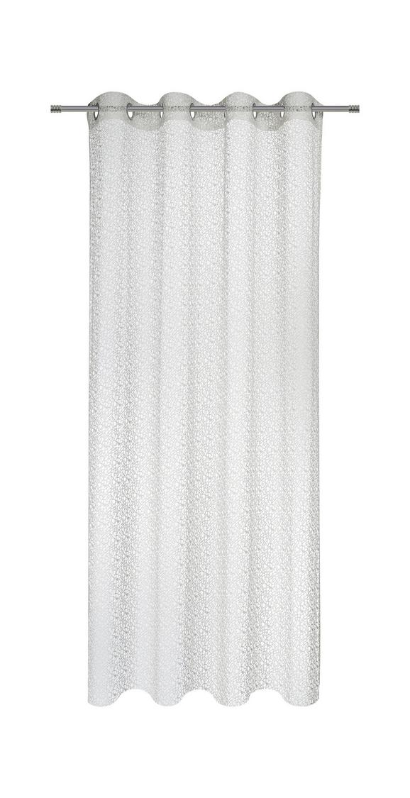 Ösenschal Astrid in Weiß, ca. 140x245cm - Weiß, MODERN, Textil (140/245cm) - Mömax modern living
