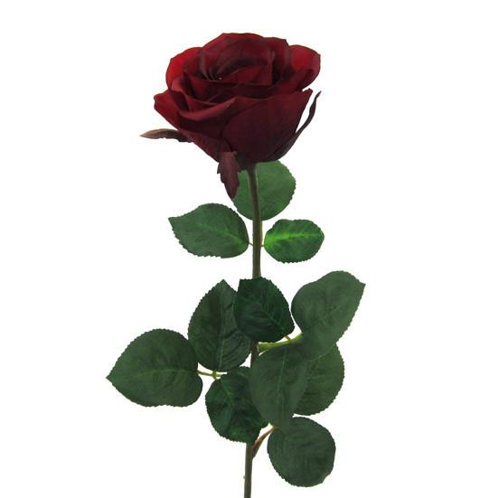 Umetna Roža Rose - rdeča/zelena, umetna masa (69cm) - Mömax modern living